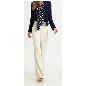 Talbots cream pants